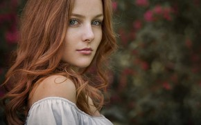 Picture sponge, the beauty, redhead, Mona, Siegart from Schlichting