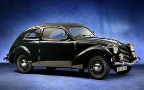 Picture black, Skoda, Skoda, 1939, Type 922, Rapid OHV Streamlined Tudor