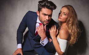 Picture look, girl, style, white, makeup, dress, blonde, costume, male, fashion, fashion, woman, man, couple, look, …