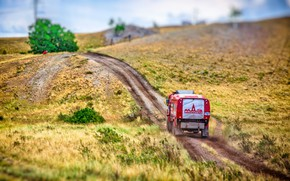 Picture Red, Sport, Truck, Race, Hill, Rally, Rally, The roads, 316, MAZ, Silk road, Silk Way, …