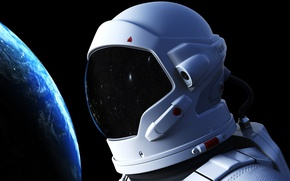 Wallpaper the orbit of life, Explorer, star field, wallpaper., bokeh, Earth, astronaut, astronaut, infinity, space, the ...