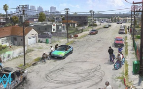 Picture Game, Games, Ubisoft, watch dogs 2, Grovestreet