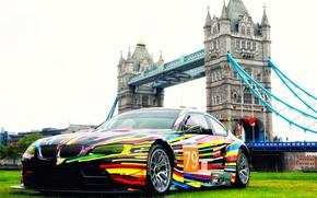 Picture London, Color, Auto, Vinyl, BMW, Sport, Machine, BMW, The hood, Lights, Color, Art, Art, Tower …