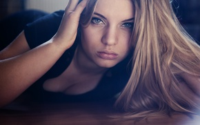 Picture look, face, hair, portrait, Alina Proud Castle