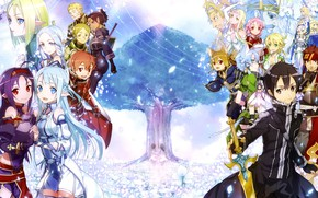 Picture game, anime, asian, manga, japanese, Sword Art Online, oriental, asiatic, powerful, strong, sugoi, SAO, light …