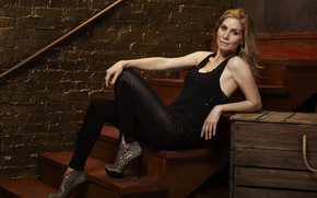 Picture pose, actress, Elizabeth Mitchell