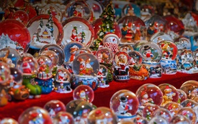 Picture New Year, Christmas, Italy, market, Souvenirs, Trent