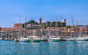 Picture yachts, France, Cannes, Cannes
