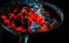 Picture ash, fire, heat, coal, the fire, soot, charcoal