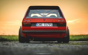 Picture Red, Volkswagen, Machine, Golf, Volkswagen Golf, Old, Volkswagen Golf GTI, Mike Crawat Photography, Mike Crawat, …