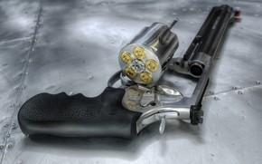 Picture cartridges, revolver, drum