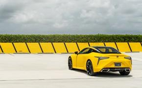 Picture Lexus, Yellow, LC 500 6, AG JM