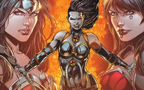 Picture Artist, Red eyes, Jason Faboc, Red eyes, Wonder Woman, Comic, Villain, Diana, Comics, Darkseid Was, …
