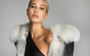 Picture model, portrait, Hailey Baldwin