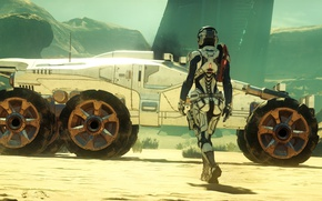 Picture auto, planet, nomad, Mass Effect Andromeda, Pioneer