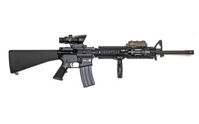 Picture rifle, American, automatic, M16A4
