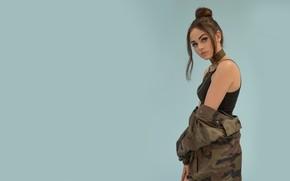 Picture look, girl, background, sweetheart, singer, beautiful, Maggie Lindemann, Maggie Lindemann