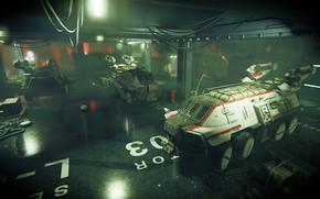 Picture hangar, Shadow Warrior 2, Zilla transport Vehicle