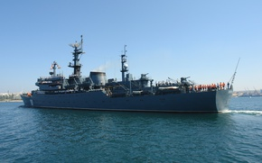Picture ship, Navy, military, training, Perekop
