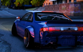 Picture style, car, rear view, Grand Theft Auto V