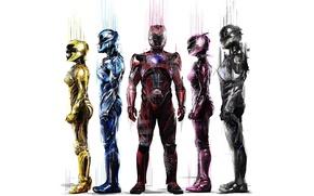 Picture cinema, movie, hero, film, suit, pearls, Power Rangers, yuusha