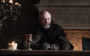 Picture A Song of Ice and Fire, Game Of Thrones, tv series, Season 7, Davos Seaworth