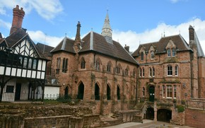 Picture England, Building, Town, Velikobritaniya, Englang, Coventry, Coventry