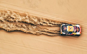 Wallpaper Sand, Auto, Sport, Machine, Speed, Race, Top, Peugeot, Lights, Red Bull, The view from the ...