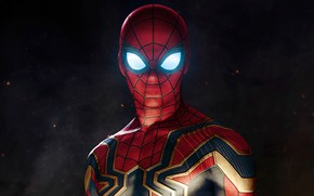 Wallpaper Figure, Costume, Actor, Hero, Movie, Mask, Superhero, Hero, The film, Fiction, Marvel, Spider-man, Spider-man, Comics, ...