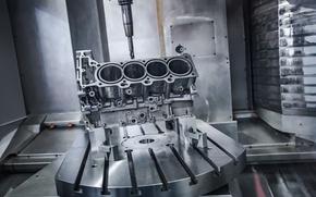 Picture engine, aluminum, Winch