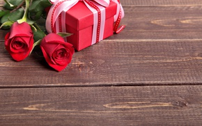 Wallpaper heart, bouquet, red, love, heart, romantic, valentine's day, gift, roses, red roses
