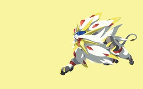 Picture game, lion, animal, fang, Pokemon, Pokémon Sun & Moon, Pokémon, Pokémon Sun and Moon