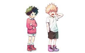 Picture anime, art, boys, Boku no Hero Academy, My heroic academia