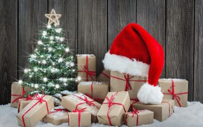 Picture tree, Christmas, gifts, New year, Christmas, Photos, vectors