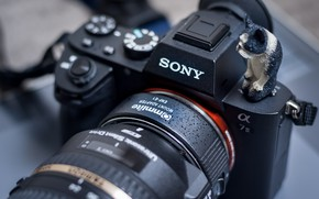 Picture macro, the camera, Sony
