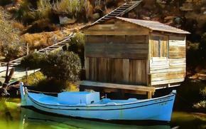 Picture Figure, Boat, Art, Art, Boat