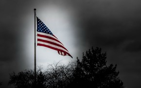 Picture flag, patriotism, country