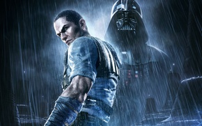 Picture Rain, Darth Vader, Star Wars: The Force Unleashed 2, Game, LucasArts Entertainment, Aspyr Media