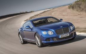 Picture road, Bentley, Continental, GT Speed