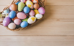Picture holiday, eggs, Easter, Basket, Orthodox holiday