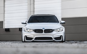 Picture BMW, Front, Face, Silver, F82, Sight