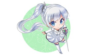 Picture round, girl, baby, RWBY