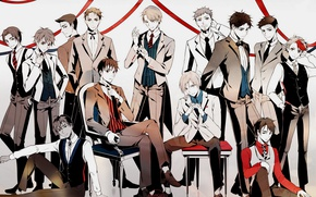 Picture anime, art, skaters, guys, characters, Yuri on Ice, Yuri on the ice