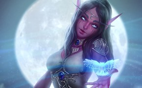 Picture girl, World of Warcraft, Warcraft, wow, art, Heroes of the Storm, Hearthstone, Heroes of Warcraft, …