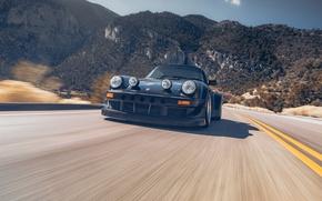 Picture Road, Mountains, 911, Porsche, Speed, Karera, Porsche, Carrera, 964, RWB, 1988, Rough, World, Term