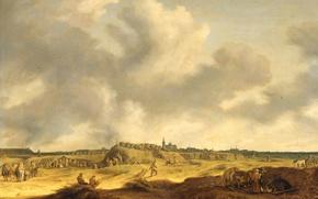 Picture oil, picture, canvas, Frederick-Henry Of Orange Was Besieging ' S-Hertogenbosch, Pieter de Neyn