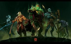 Picture freaks, dota2, fanart my favorite heros
