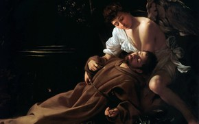 Picture picture, mythology, Michelangelo Merisi da Caravaggio, The Ecstasy Of St. Francis Of Assisi