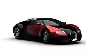 Picture car, machine, figure, Bugatti, Bugatti, rubber, Picture, hypercar, hypercar, tires, Boke, 3d, bug
