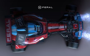 Picture car, the view from the top, Igor Sobolevsky, Axiom Feral Racer